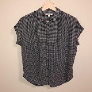 Madewell Haden Plaid Button Up Central Shirt| S